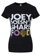 Joey Doesn't Share Food Women's Black T-shirt