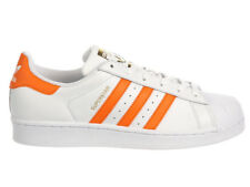NEW WOMENS ADIDAS ORIGINALS SUPERSTAR CASUAL SHOES TRAINERS WHITE / TACTILE ORAN