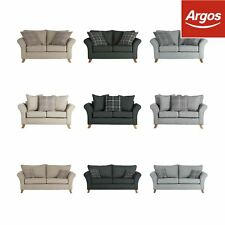 Collection Kayla 2/3 Seater Left/Right Hand High Back Fabric Sofa Colour Choice