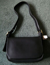Genuine COACH AMANDA LARGE HOBO Bag Purse Handbag BLACK LEATHER  No. 01D 9951