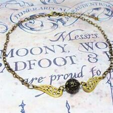 Harry Potter Inspired Necklace Golden Snitch Quidditch Pendant Costume Jewellery