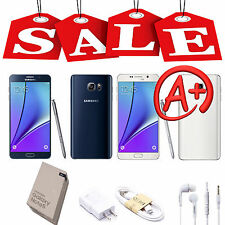 Samsung Galaxy Note 5/Note 4/ S5 GSM Unlocked SM-N920V Smartphone 32GB All Color