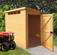 Homewood Security Wooden Shiplap Pent Garden Shed - Choice of Size -From Argos