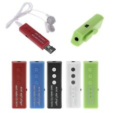 Portable Mini USB Clip Style Support 32GB Micro SD TF Card Digital MP3 Player