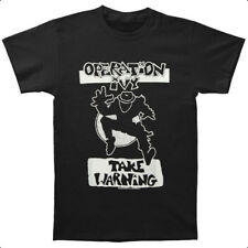 Operation Ivy - Take Warning Black T-shirt - BRAND NEW - Official