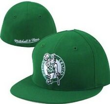 Boston Celtics NBA fitted hat by Mitchell & Ness new with stickers Basketball