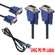 SVGA VGA Monitor Extension Cable Male to Female PC Video Cable 15Pin Adapter lot