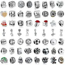 Animals Charms Bead Pendant Xmas Gift Fit 925 Silver Sterling Bracelets Necklace