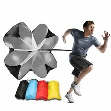 Speed Parachute Running Exercise Resistance Training Stamina With Carrying Bag