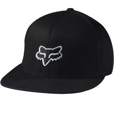 Fox Racing The Steez Fitted Hat Black/White