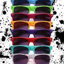 Paint Drip Splattered Sunglasses 8 Colors Retro 70s 80s Fixie Hipster