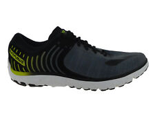 NEW MENS BROOKS PUREFLOW 6 RUNNING SHOES TRAINERS BLACK / EBONY / LIME POPSICLE