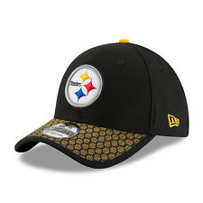 New Era 39THIRTY NFL Pittsburgh Steelers On Field Elasticated Stretch Fit Cap