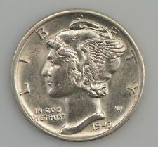 1943-D Mercury/Winged Liberty Head Dime *Z19