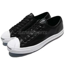 Converse Jack Purcell LTT Leather Black White Classic Men Shoes Sneakers 157788C