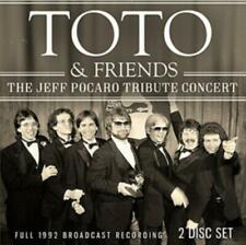 Jeff Porcaro Tribute Concert - Toto Compact Disc Free Shipping!