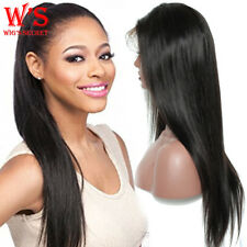 Malaysian Virgin Human Hair Full Lace Wig Pre Plucked Lace Front Wig Baby Hair
