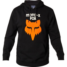 Fox Racing Adult Legacy Heritage Pullover Hoody Black Mx ATV Off Road Enduro MTB