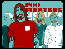 FOO FIGHTERS GIANT WALL ART POSTER A0 A1 A2 A3