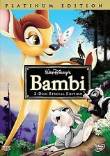 Bambi DVD Disney BRAND NEW 2-Disc Special Platinum Edition Sealed