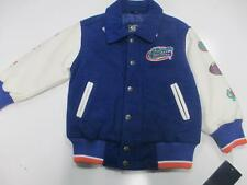 Gators Toddlers S M 2T 3T 4T National Champions Wool Faux Leather Jacket FGT 14