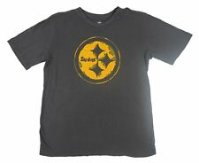 NFL - NWT Pittsburgh Steelers Youth Brown/Gold Logo T-Shirt - Youth L, XL