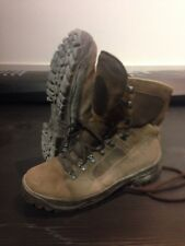 Size 9 suede brown combat high liability desert meindl boots!v/g condition