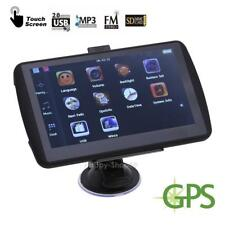 "7"" LCD Car Auto Truck GPS Navigation 4GB Touch Screen Navigator Free Map Update"