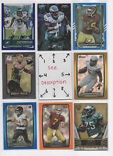Philadelphia Eagles BLOWOUT Lot #3 - Serial #'d - Rookies C MY OTHER EAGLES LOTS