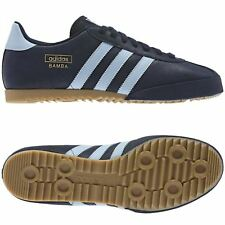 ADIDAS ORIGINALS BAMBA BLUE NAVY TRAINERS SHOES SNEAKERS SIZES 7 - 12 CASUAL NEW