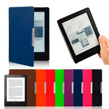 Magnetic Auto Sleep Smart Leather Cover Case For KOBO AURA H2O eReader+Touch Pen