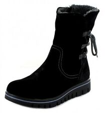 Marco Tozzi Ladies Suede Winter Boots Robust Flat Warm Black 37-41