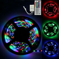 5M RGB 3528 300 LED SMD Flexible Light Strip Lamp With Controller Waterproof USA