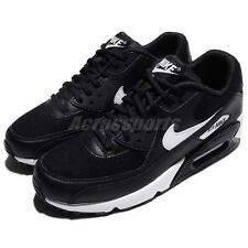 Nike Wmns Air Max 90 Black White Women Running Shoes Sneakers Trainer 325213-047