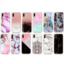 New Ultra Thin Luxury Marble Stone Back Cover Soft TPU Phone Case For iPhone X