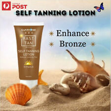 3X LANTHOME FAST TAN INSTANT SELF TAN TANNING LOTION DEEP BRONZE - AU SELLER