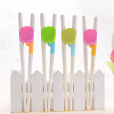 1 Pair Children Kids Easy Use Beginner Chopsticks Cartoon Training Helper Learn