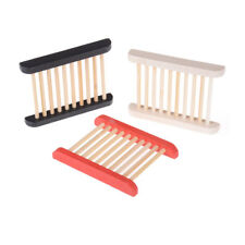 Trendy Trapezoid Wooden Soap Dishes Natural Wood Soap Box Bath Holder CA
