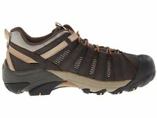 New Keen Mens Voyageur Leather Athletic Support Hiking Trail Walking Shoes 9