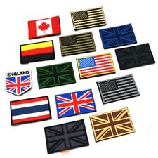 Nation Flag Emblem Patch Embroidered Applique National Country Sew Trim US