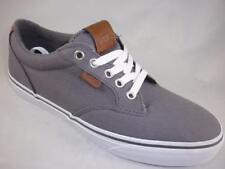 Men's VANS WINSTON Gray Canvas Skate Casual/Athletic Sneakers Shoes NEW