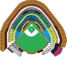 4 TICKETS ARIZONA DIAMONDBACKS @ MILWAUKEE BREWERS 5/22 *Sec 210 Row 15*