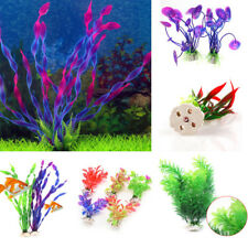 Multi Type Fake Grass Aquarium Decoration Ornament Plastic Plant Fish Tank Decor