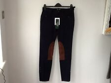 BNWT Gorgeous Ladies Ralph Lauren Navy Blue Edith Jodphur Trousers, Various Size