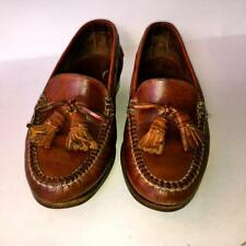 COLE HAAN COUNTRY MENS Kiltie Tassel Loafers~BROWN BRAIDED LEATHER.MEN'S Size 7M