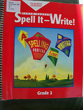 $1.95 ea Macmillan McGraw Hill,Everyday Spelling, Zaner-Bloser,World of Language