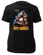 Army of Darkness Trapped in Time Black T-Shirt - BRAND NEW (Official)
