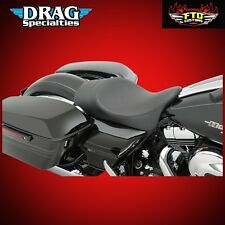 Drag Specialties Low Profile Solo Seats w Fwd. Positioning 0801-0878