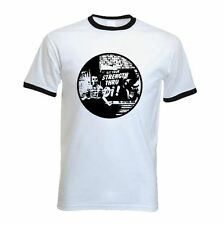 STRENGTH THROUGH OI SKINHEAD RINGER T-SHIRT - Ska Clothing Oi Punk Hardcore