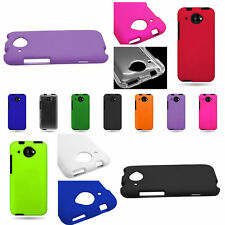 For HTC Desire 601 Hard Rubberized Snap On Plastic Shell Phone Cover Case